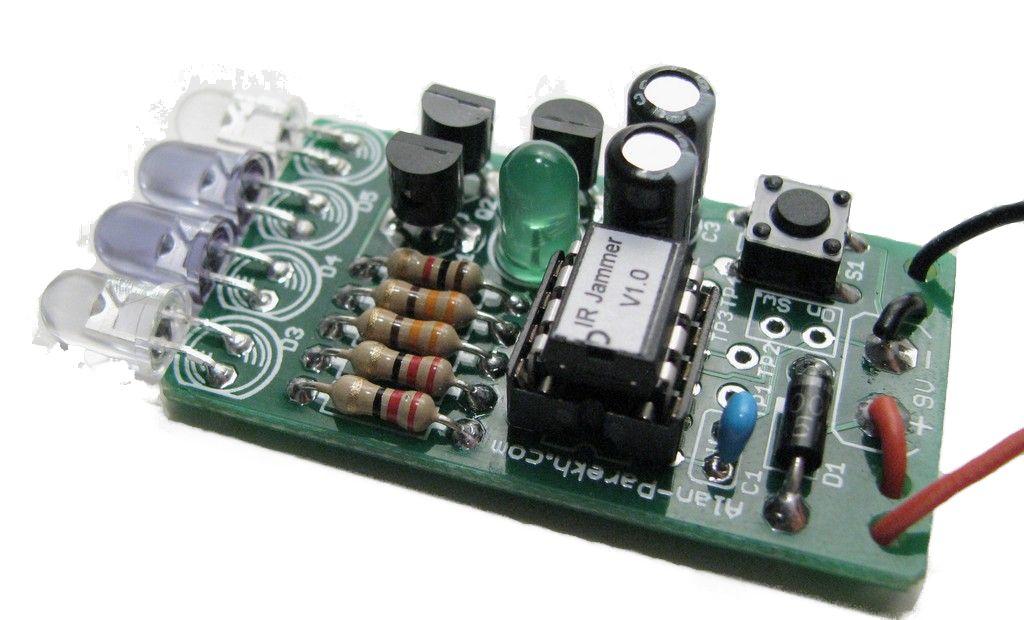 IR Remote Control Jammer