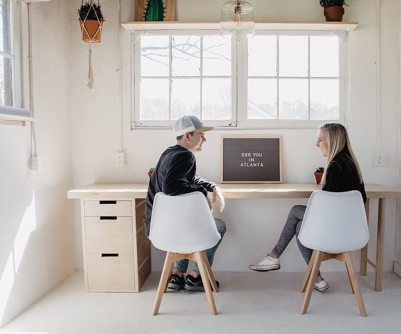 How to Make a Plywood Desk With Minimal Tools