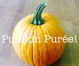 How to Make Pumkin Purée From Scratch