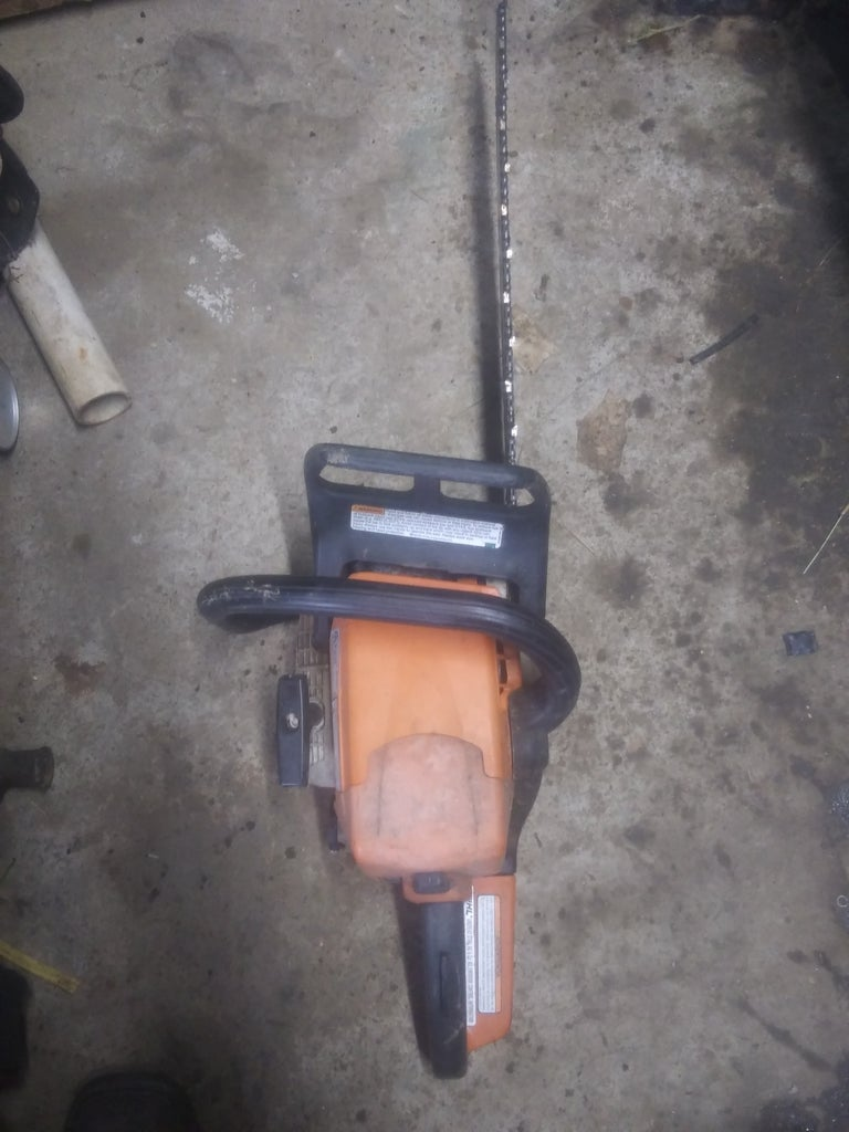 How to Fix Stripped Bar Stud Holes on a Stihl MS250 Chainsaw