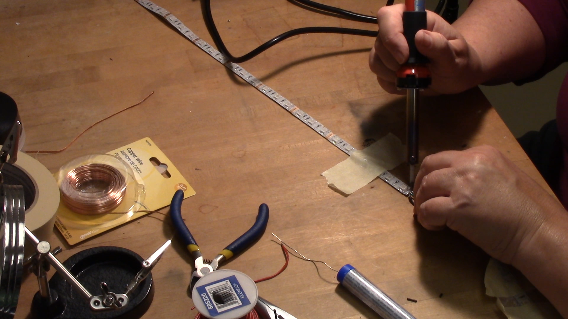 Solder and Test the Electrical Components