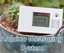 Arduino Temperature and Humidity Measuring System   Technic Joe