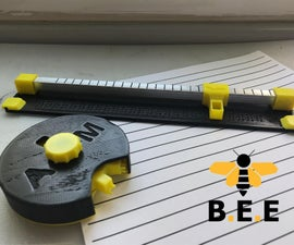 Write in Braille With B.E.E! - DIY Braille Embosser