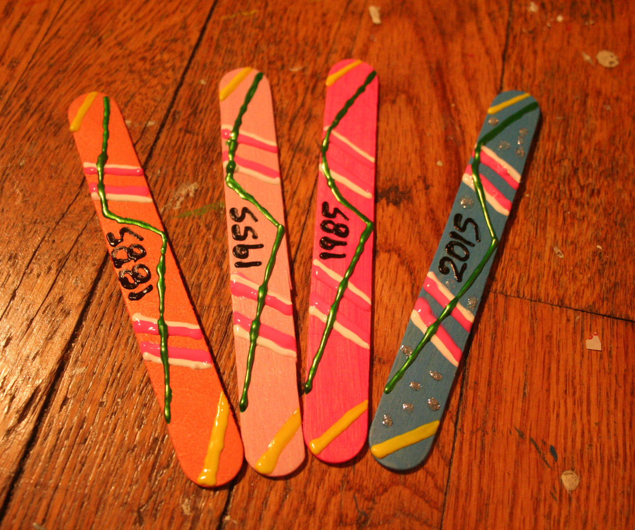 Hover Board Bookmarks