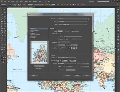 Editing Your Vector Maps in Illustrator
