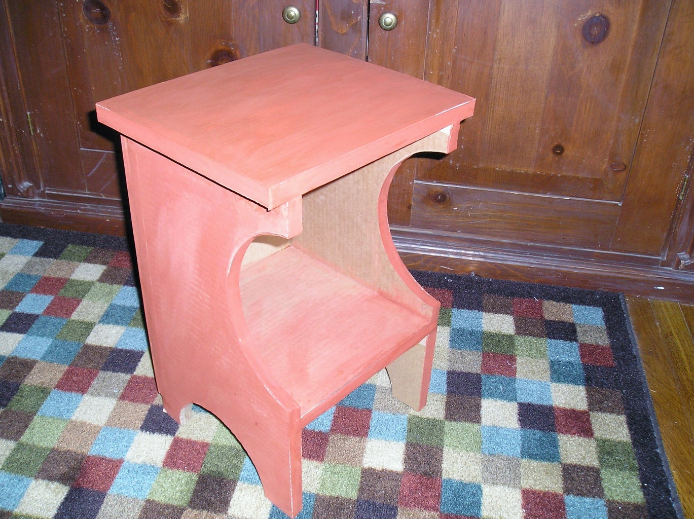 Choose a Finish for the End Table/Magazine Holder