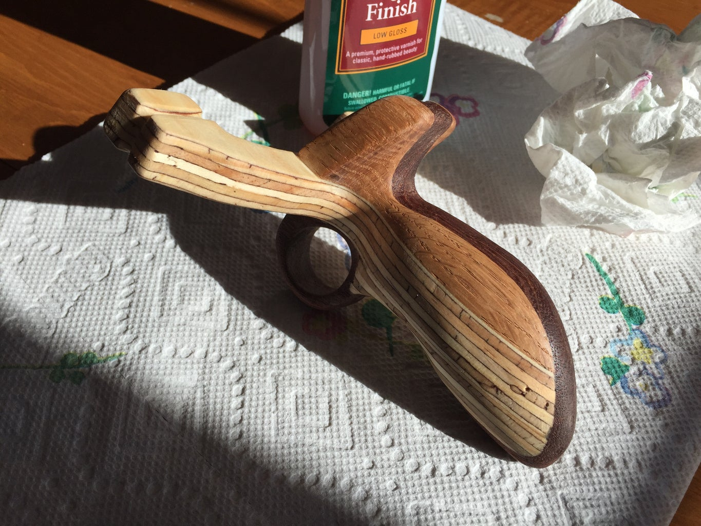 Oiling the Wood (optional)