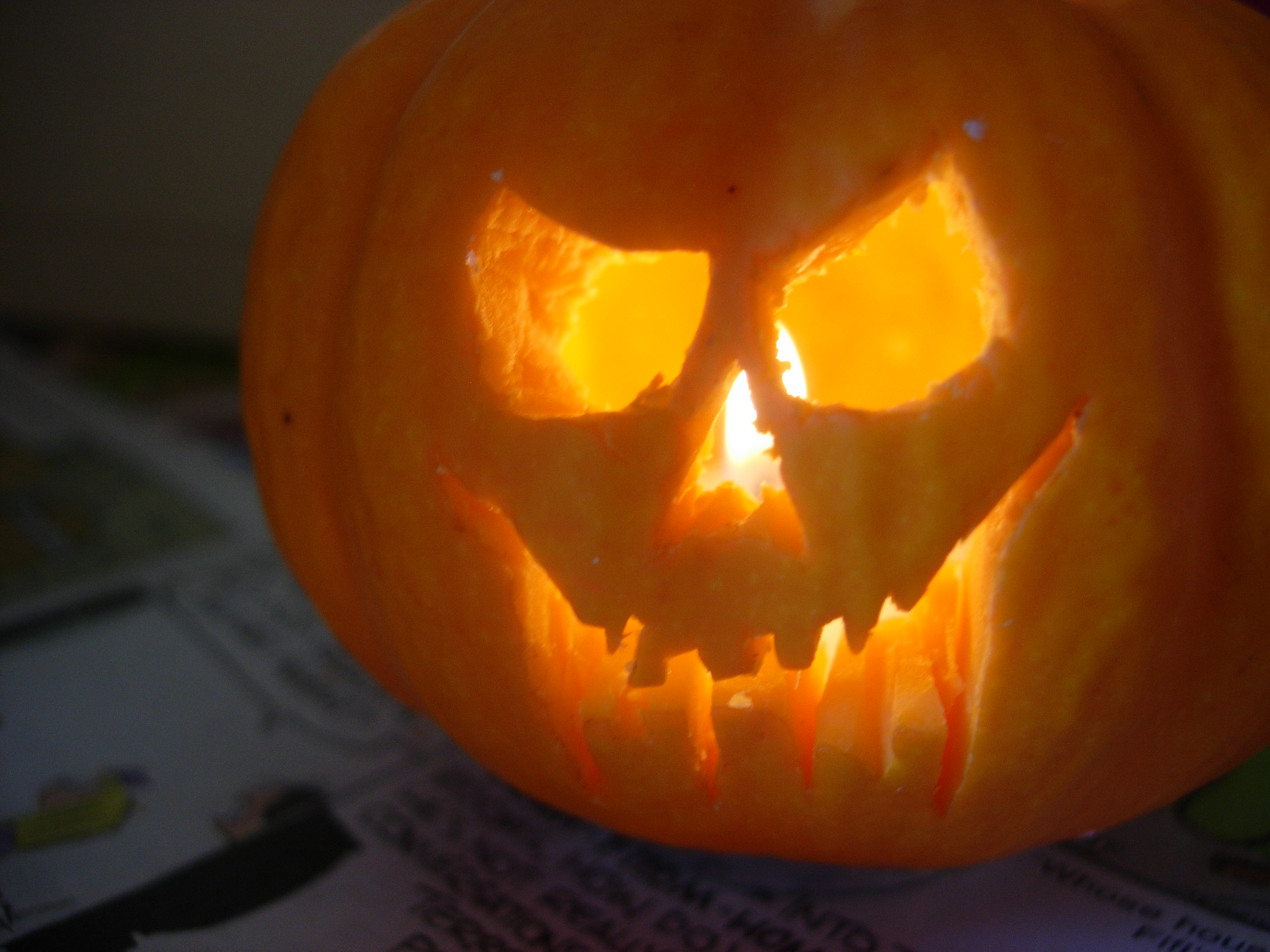 How To Make A Mini Jack O Lantern 5 Steps With Pictures Instructables