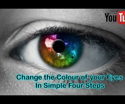 How to Change the Colour of Eyes in Photoshop in Simple Steps | Simple Steps | Must Watch
