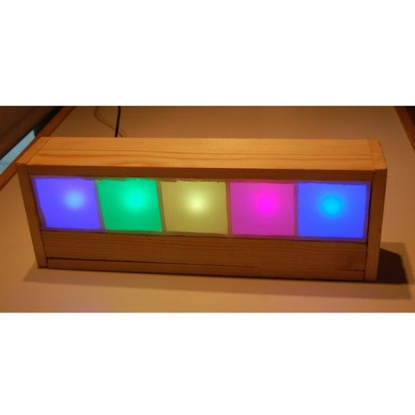 Light Spectrum Clock