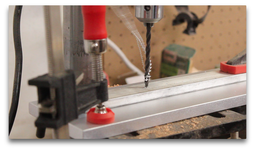 Drilling Attachment Holes in the Base (1/2)