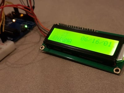Arduino Enigma Machine