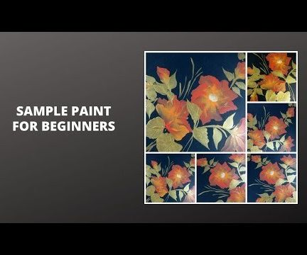 SAMPLE PAINT FOR BEGINNERS