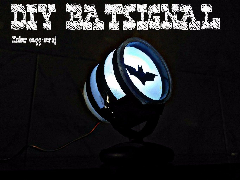 DIY Batsignal