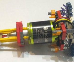 K'nex Brushless Motor Mount and Adapter
