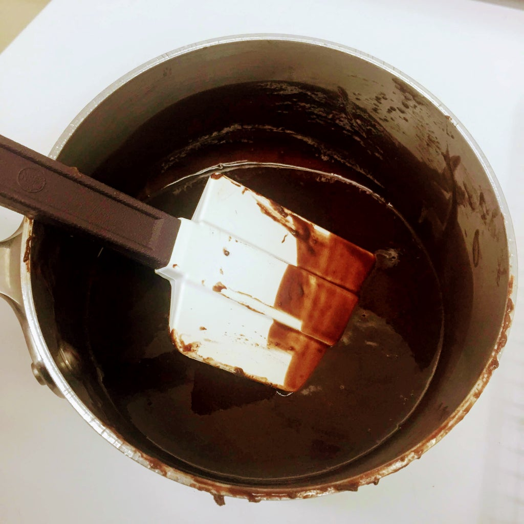 Make the Chocolate Glaze