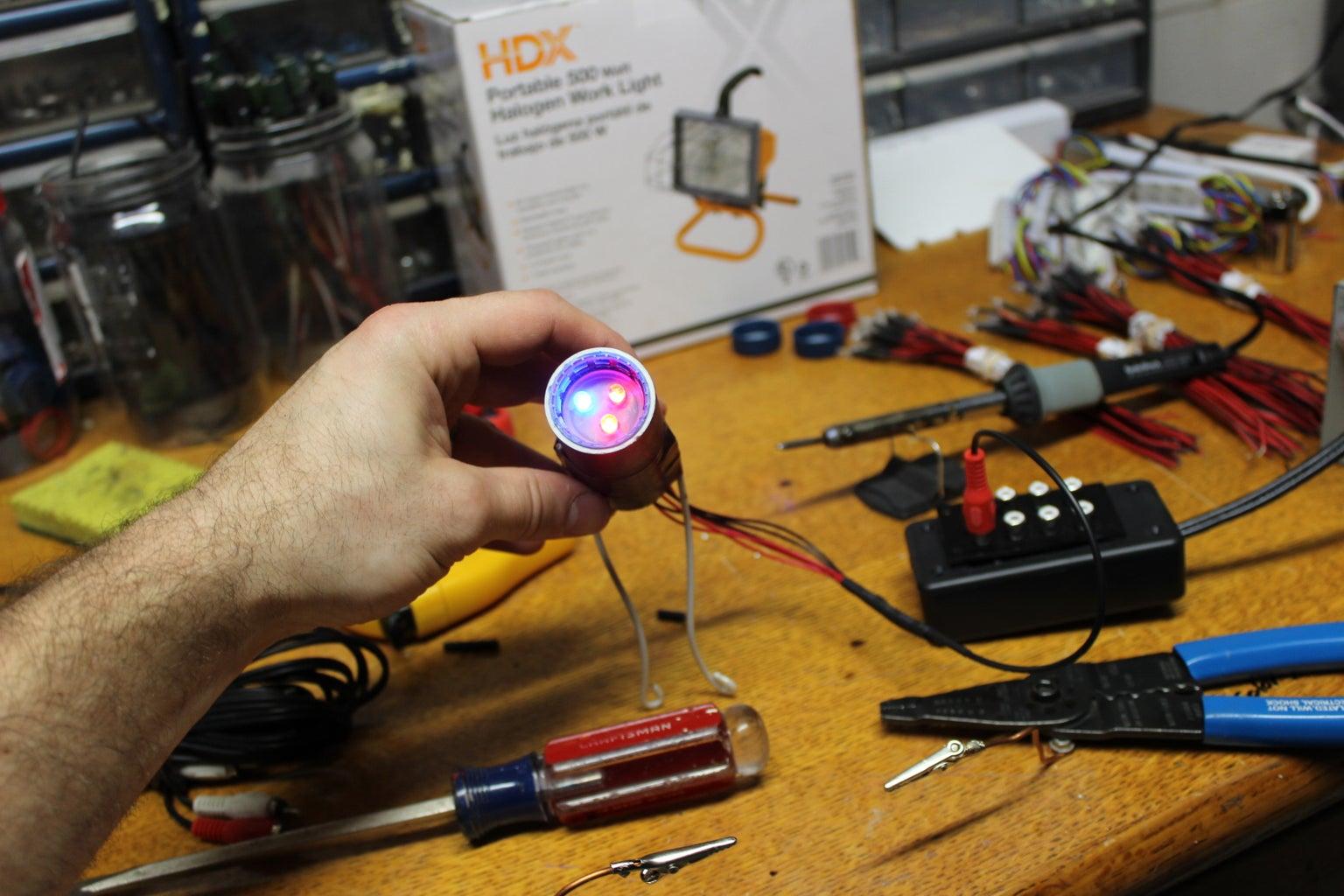 Making a Multi LED Spot