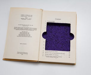 Secret Book - Polaroid Album Compartment
