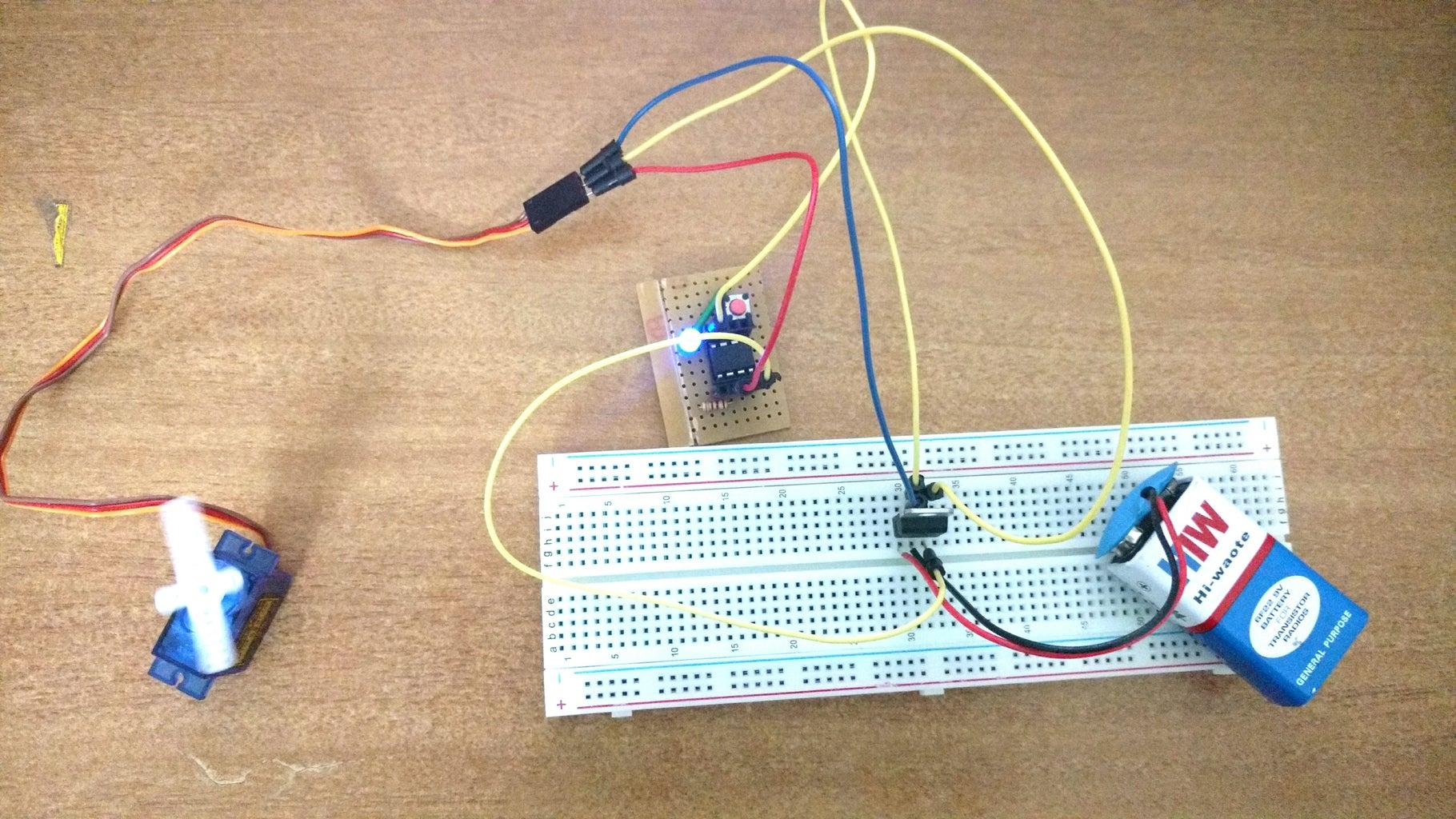 Controlling Servo Motor Using BABYDUINO