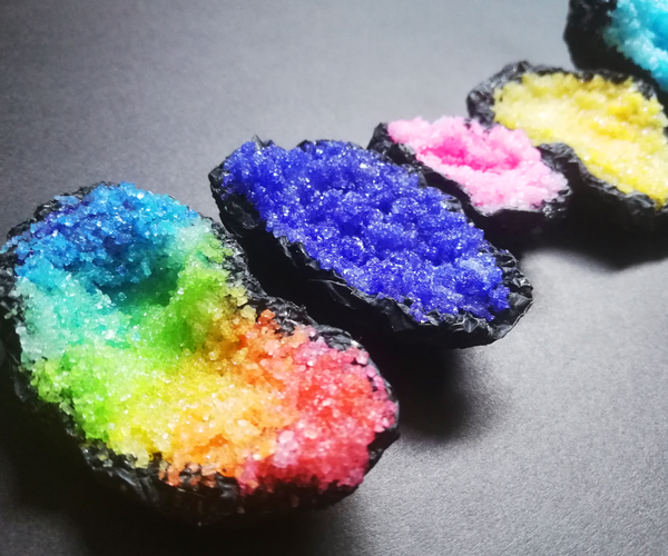 Sugar and Glue Crystals / Geodes