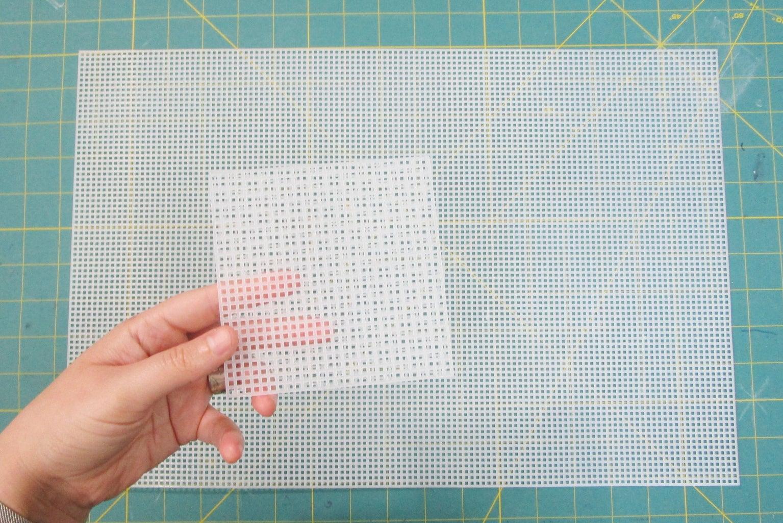 Prepare Plastic Canvas
