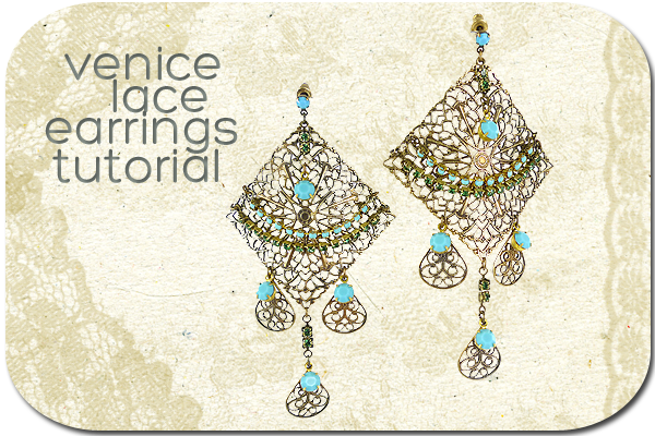 Venice Lace Earring