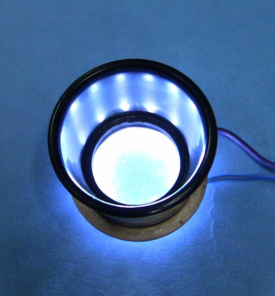 How To Make an Illuminated LED Eye Loupe