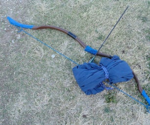 Combination Ergonomic Frame Pack, PVC Take-down Recurve Bow, and Hammock