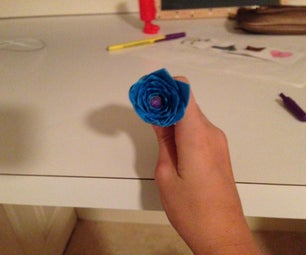 DIY Duct Tape Flower