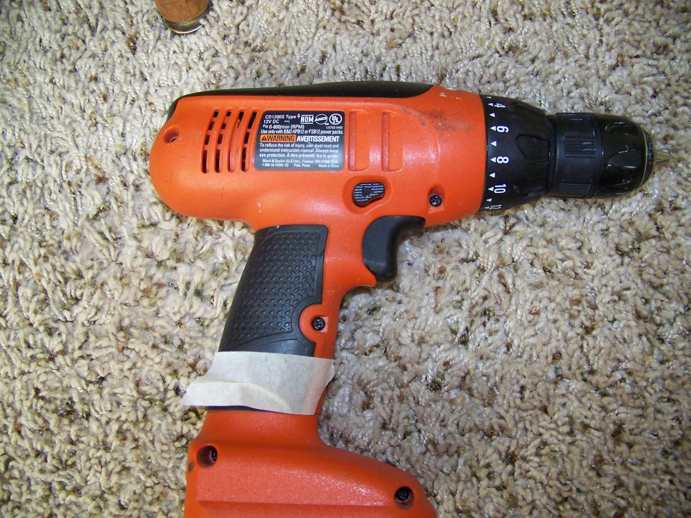 Take Apart Your Drill