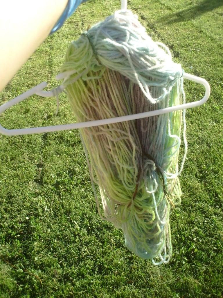 Sun Baking the Yarn
