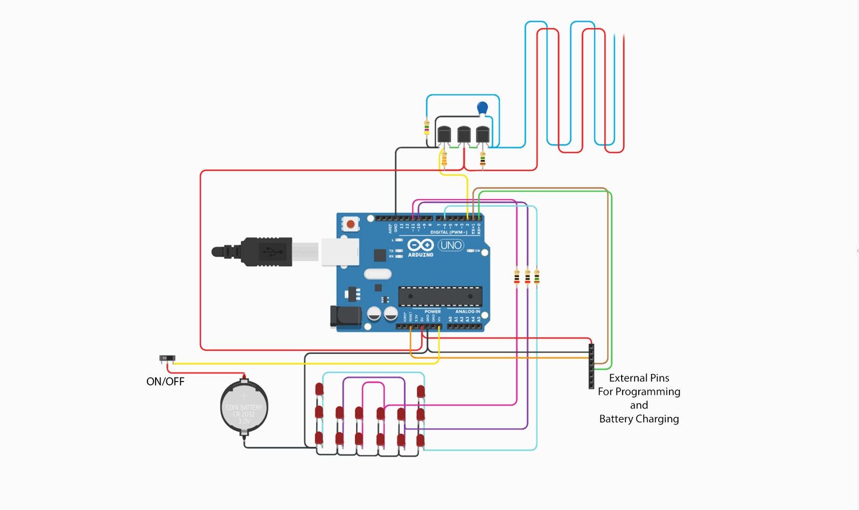 Circuit & Programing