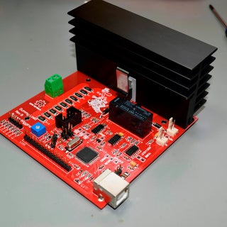 Arduino Programmable Constant Current Power Resistance Dummy Load