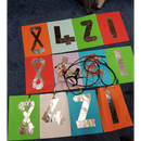 Binary Numbers Dance Mat Game With Makey Makey