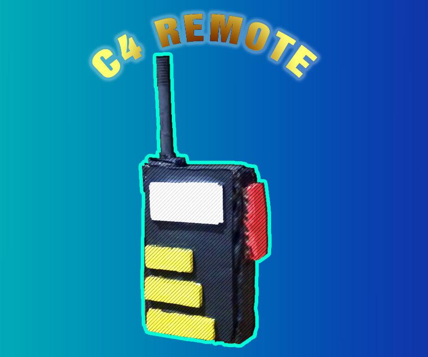 C4 Remote Prop