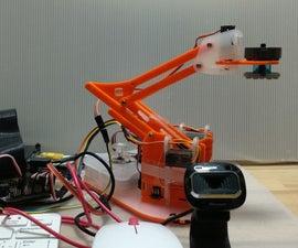 A Hearing MeArm, Google Coral TPU Accelerator Driven