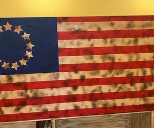 美国国旗储物柜