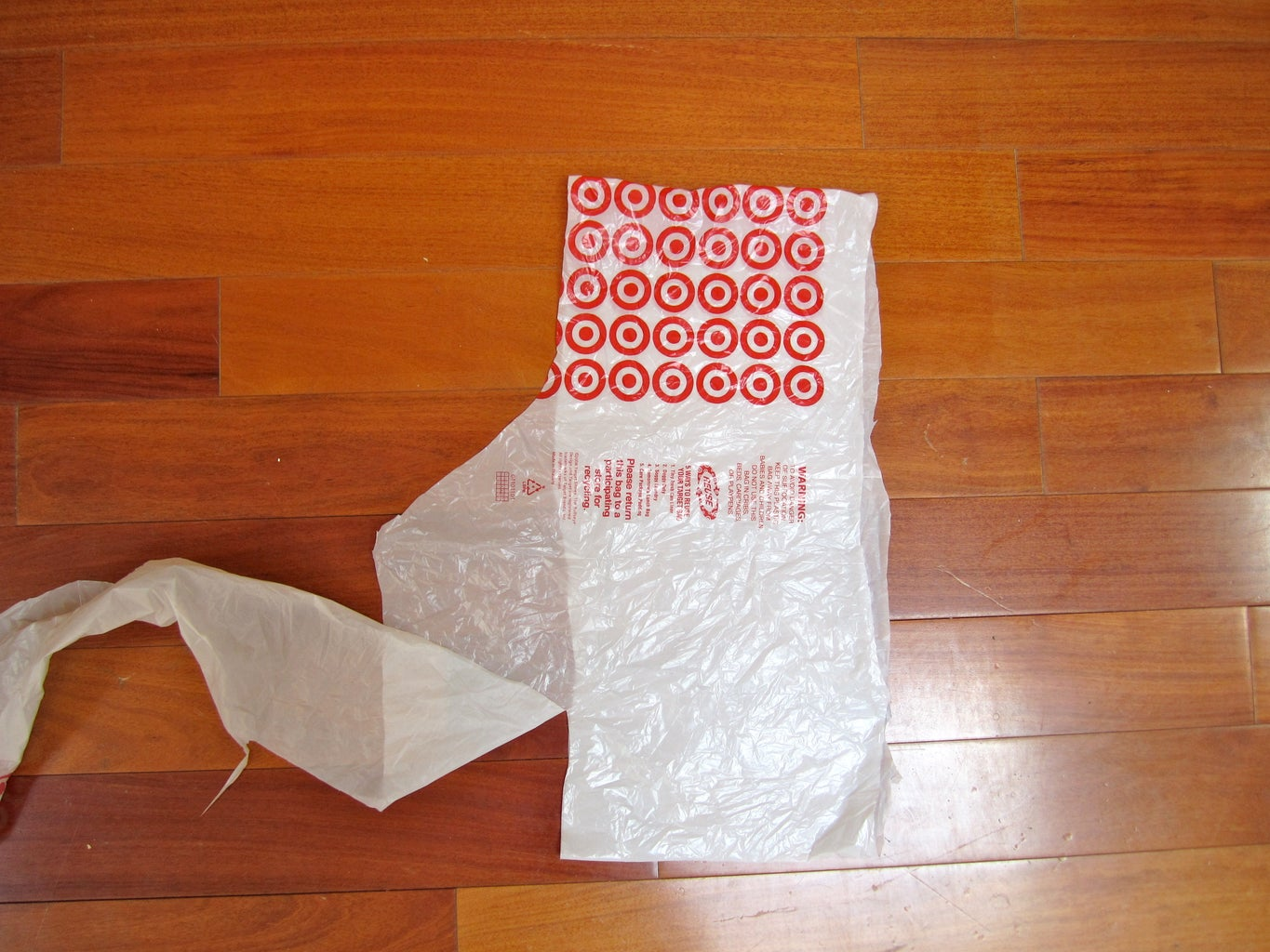 Cutting Your Bags Into Strips.