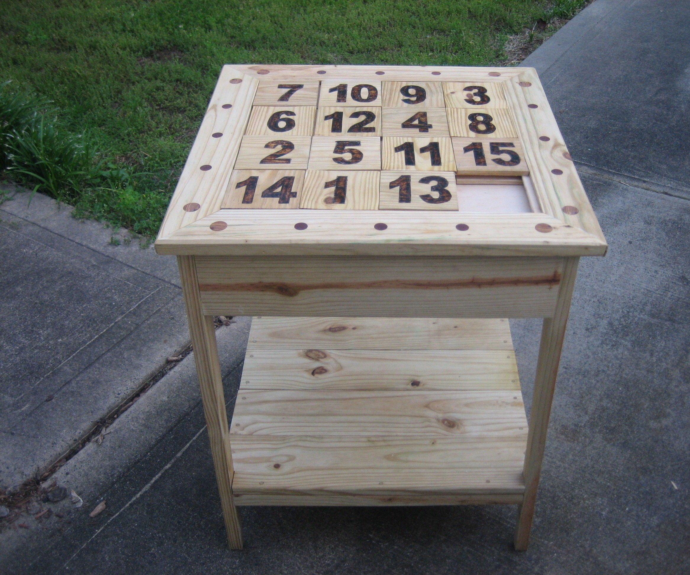 THE PUZZLE TABLE