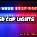 LED COP LIGHTS USING ARDUINO!