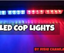 LED COP LIGHTS USING ARDUINO!