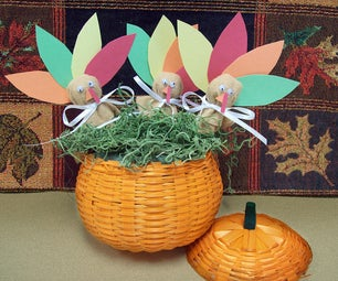 Fall Crafts: Turkey Lollipop