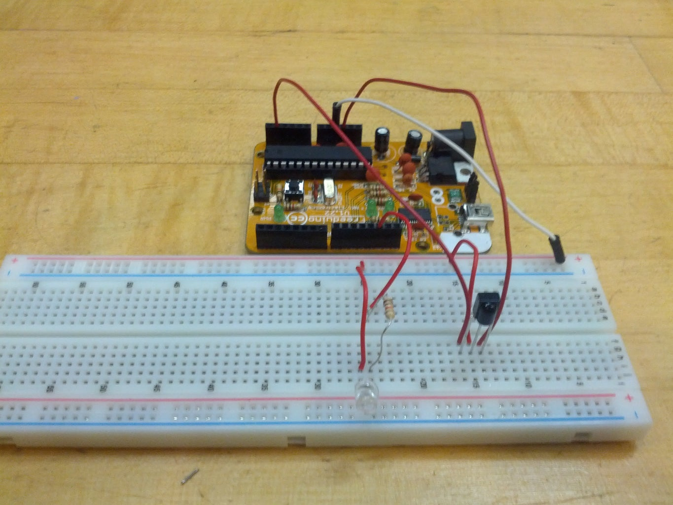 Wiring the Standard LEDs