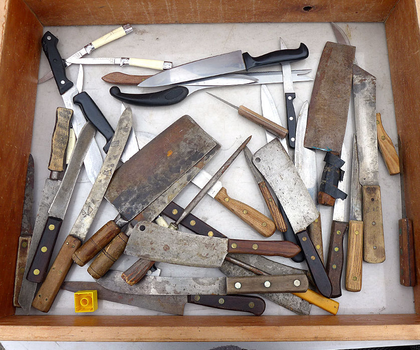 Restoring Old Kitchen Knives