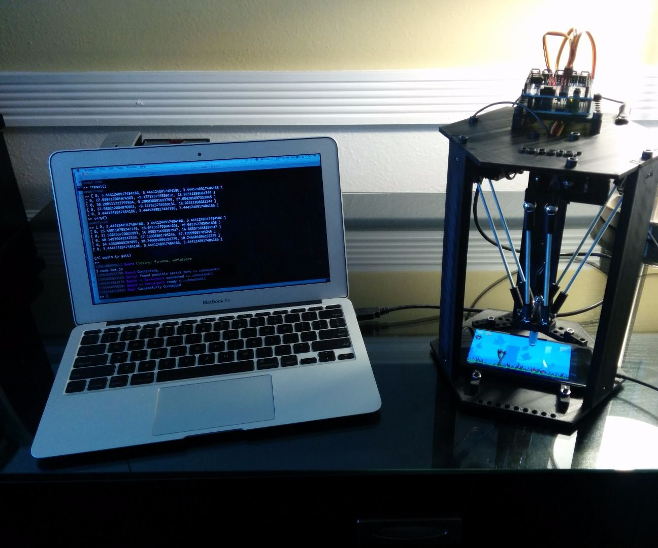 Tapsterbot 2.0: Delta Arm Assembly