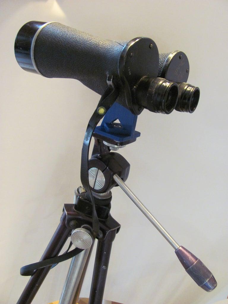 Install the Binoculars on a Tripod