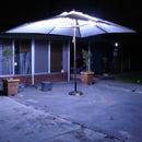 LED outdoor umbrella lighting