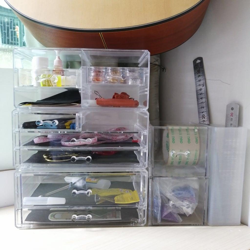Storage II. Transparent/Open