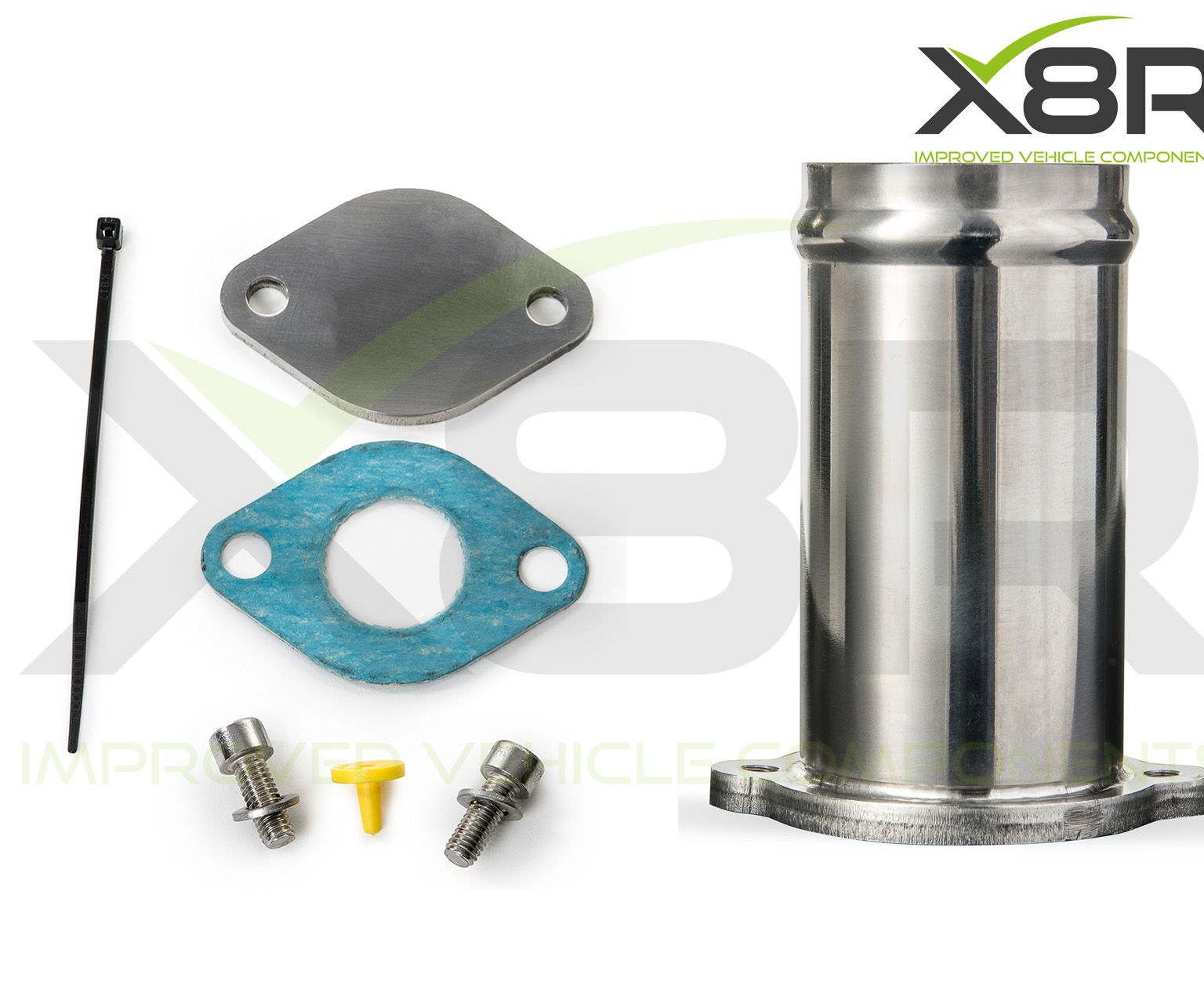 Ford Mondeo Jaguar X Type 2.0 2.2 TDCi EGR Valve Delete Bypass Blanking Blank Tube Fix Repair Fix Kit Replacement Install Instructions Guide