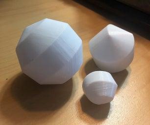 3D Printed Sphereicon